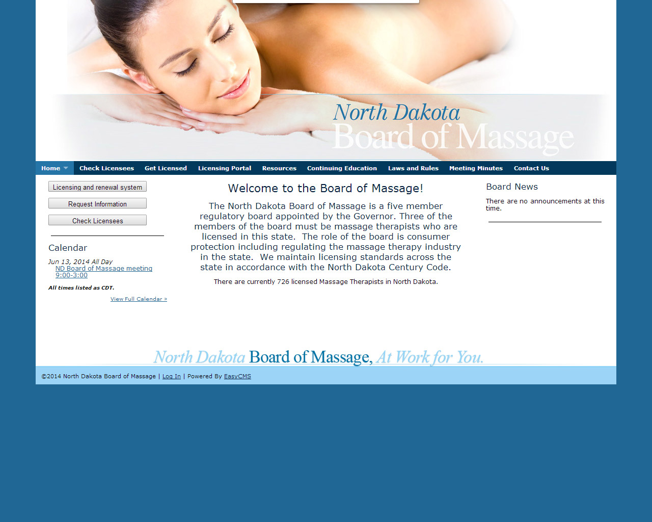 ND Board of Massage