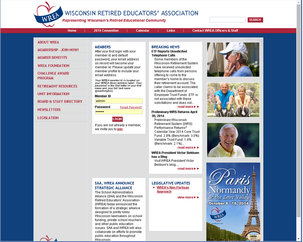 Wisconsin Retired Educators Association